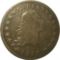 Flowing Hair Dollar