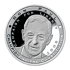 Ron Paul Silver Commemorative