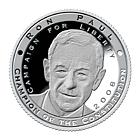 Ron Paul Silver Commemorative