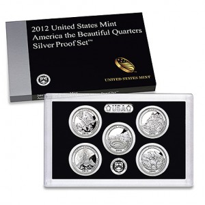 America the Beautiful Quarters Silver Proof Set
