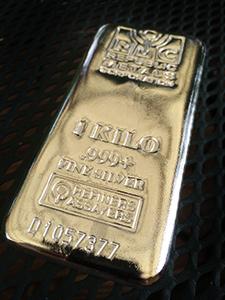 silver kilo bar