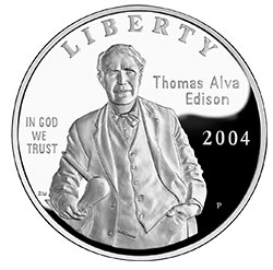 Thomas Edison commemorative