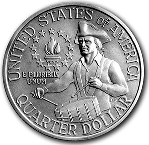 Washington bicentennial quarter
